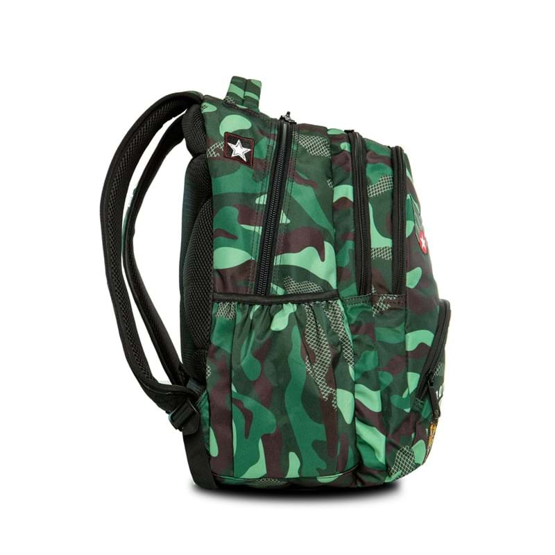 Coolpack Skoletaskesæt Bentley Grøn Camou 7