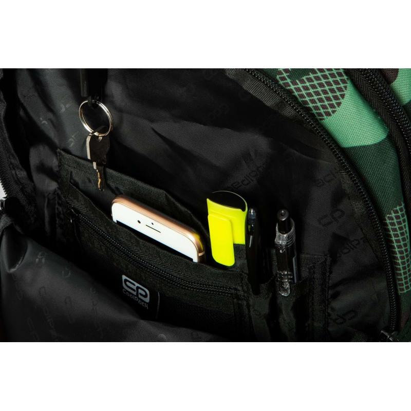 Coolpack Skoletaskesæt Bentley Grøn Camou 9