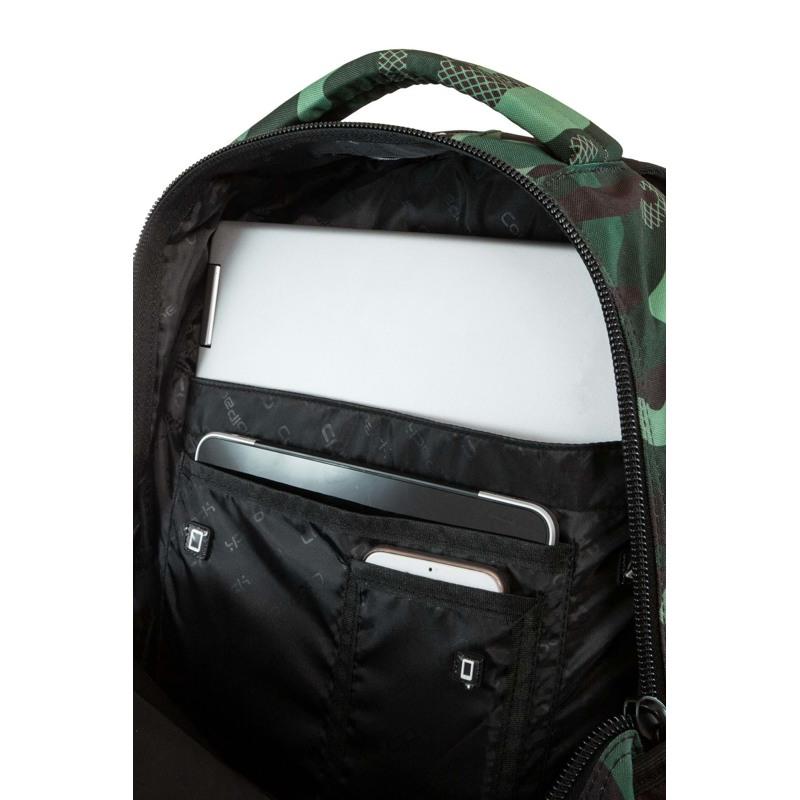 Coolpack Skoletaskesæt Bentley Grøn Camou 10