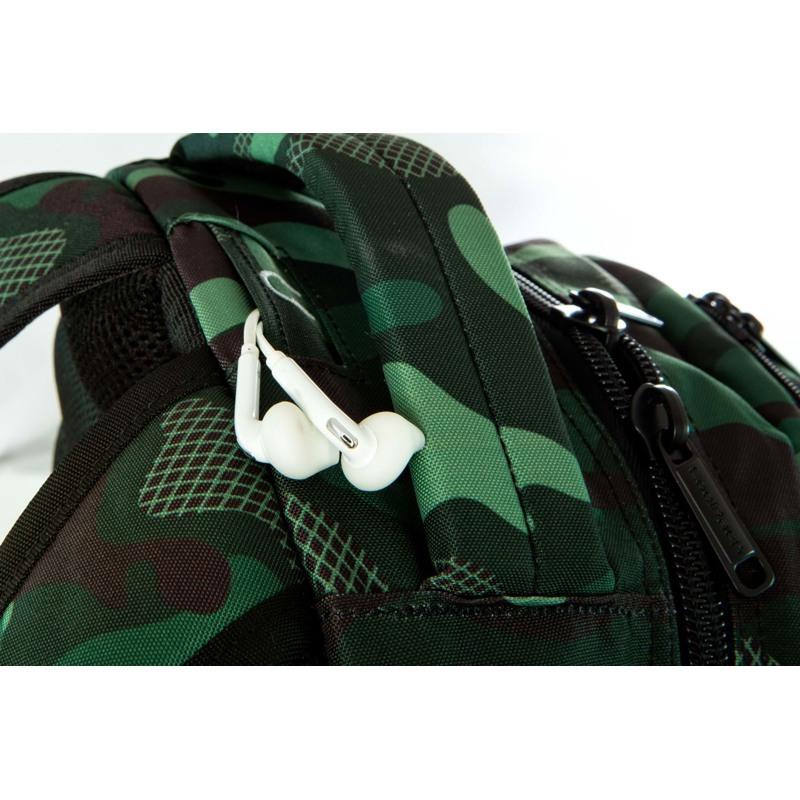 Coolpack Skoletaskesæt Bentley Grøn Camou 11