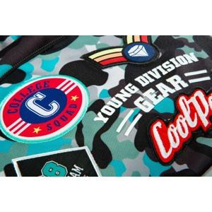 Coolpack Skoletaskesæt Dart Blå camuflage 5