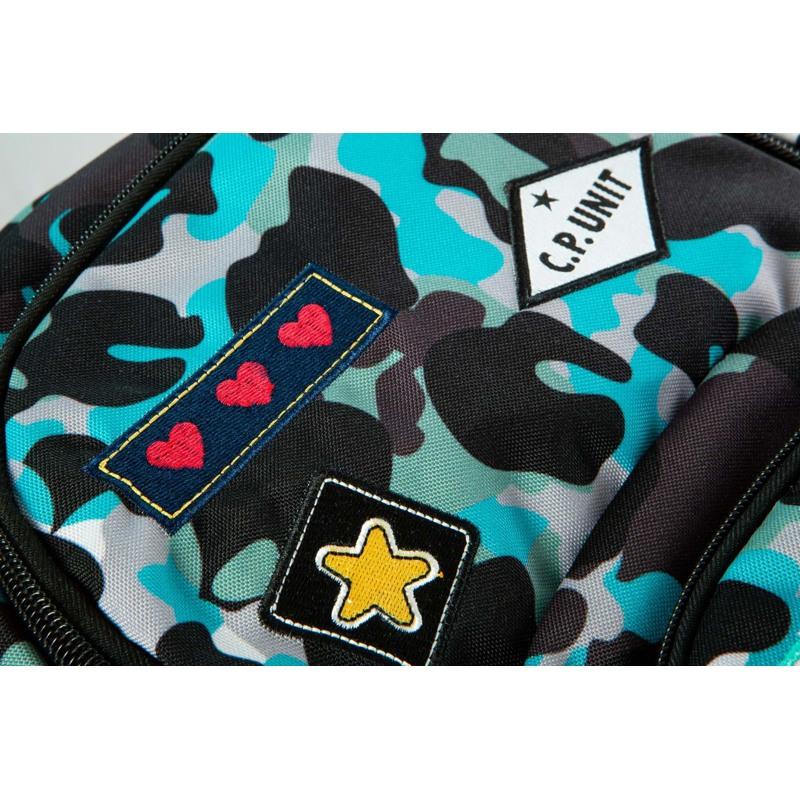 Coolpack Skoletaskesæt Dart Blå camuflage 6