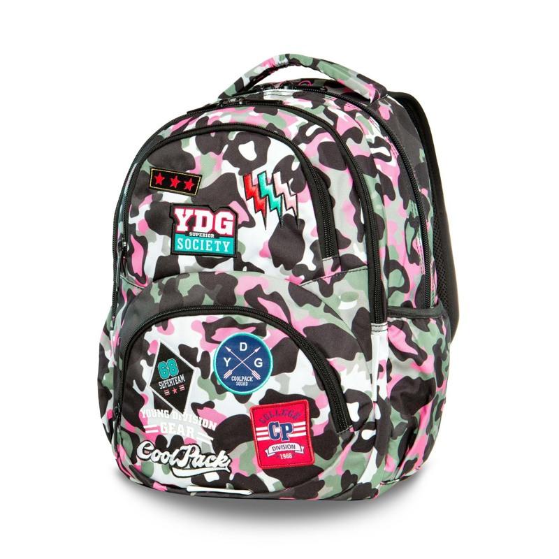 Coolpack Skoletaskesæt Dart Pink mønstret 1