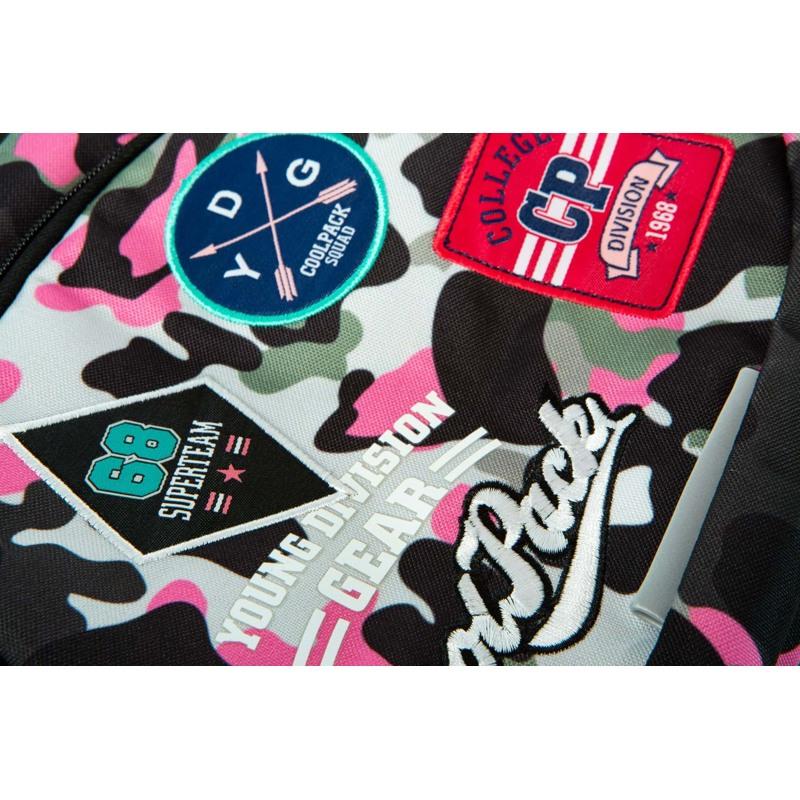 Coolpack Skoletaskesæt Dart Pink mønstret 5