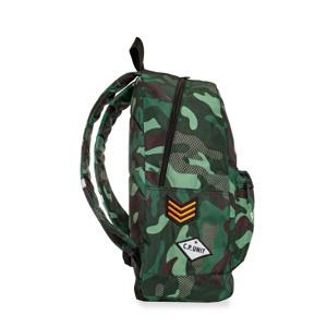 Coolpack Skoletaskesæt Cross Grøn Camou 2