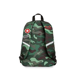 Coolpack Skoletaskesæt Cross Grøn Camou 3