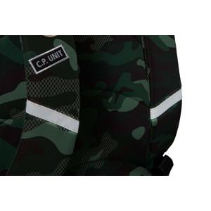 Coolpack Skoletaskesæt Cross Grøn Camou 5