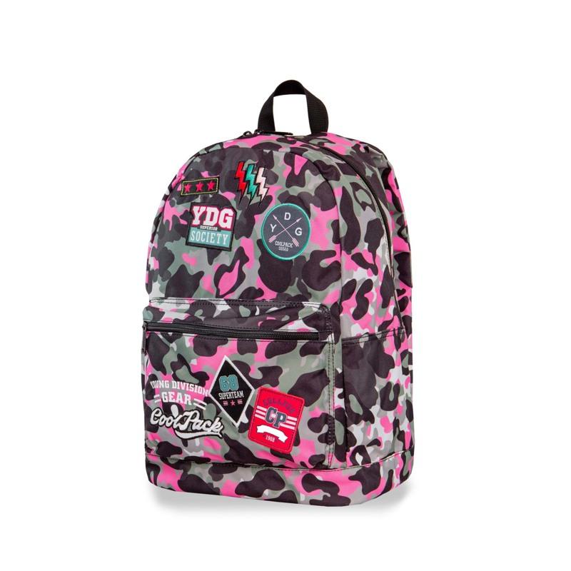 Coolpack Skoletaskesæt Cross Pink mønstret 1