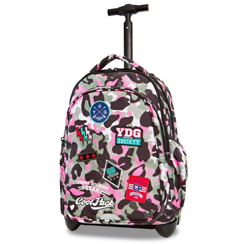 Coolpack Trolley Rygsæk Pink mønstret 5