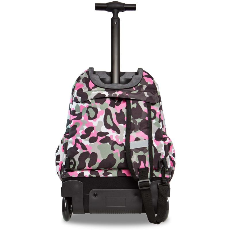 Coolpack Trolley Rygsæk Pink mønstret 3