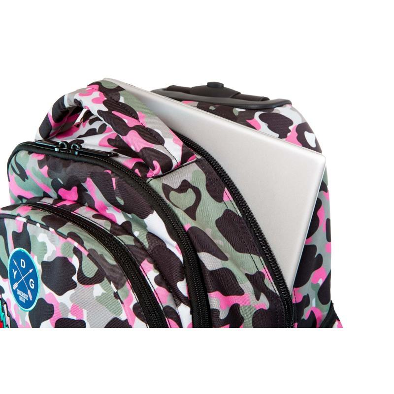 Coolpack Trolley Rygsæk Pink mønstret 4
