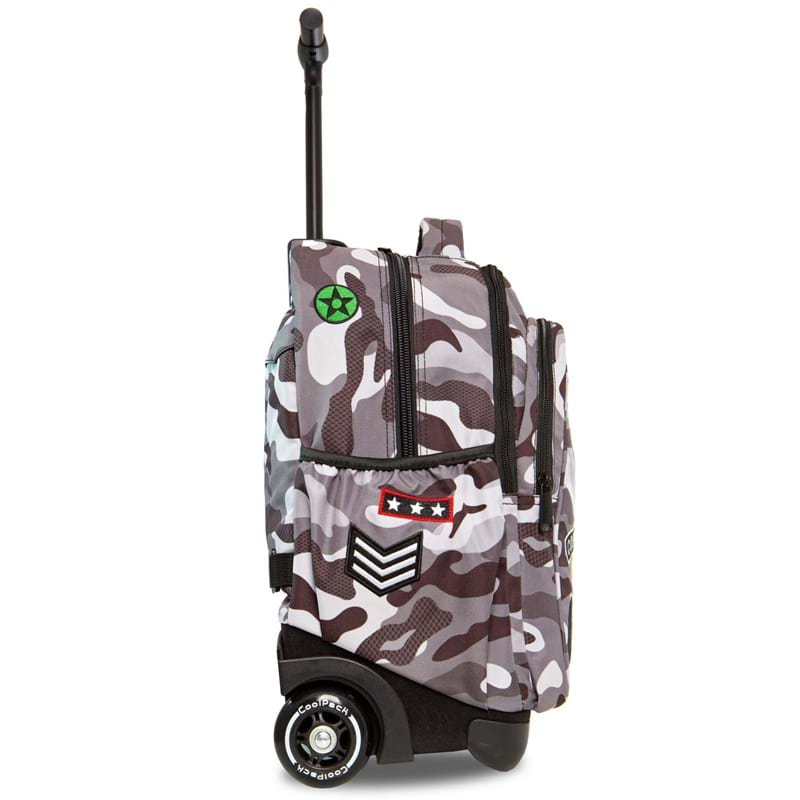 Coolpack Trolley Rygsæk Sort/camuflage 2