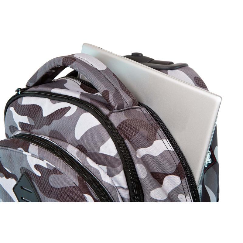 Coolpack Trolley Rygsæk Sort/camuflage 6