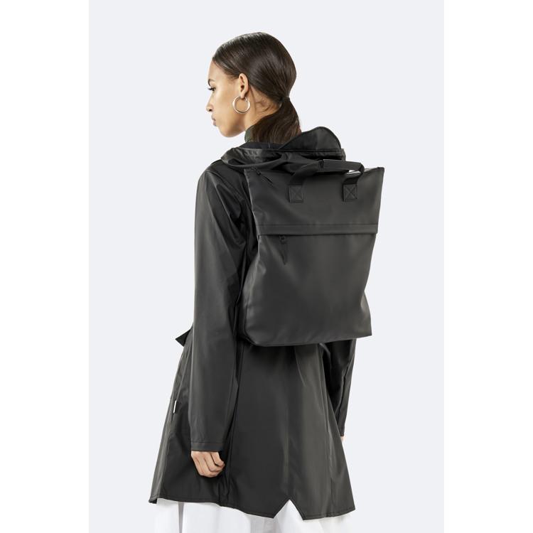 Rains Rygsæk Tote Backpack Sort 3