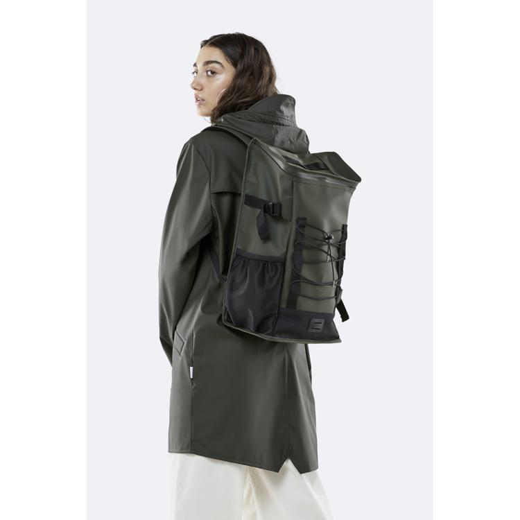 Rains Rygsæk Mountaineer Bag Army Grøn 3