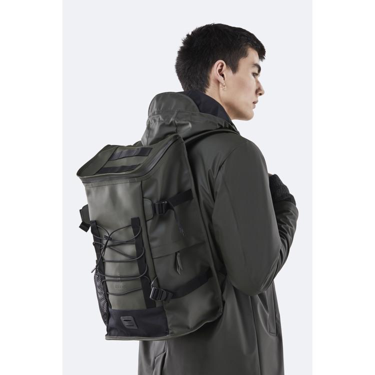 Rains Rygsæk Mountaineer Bag Army Grøn 4
