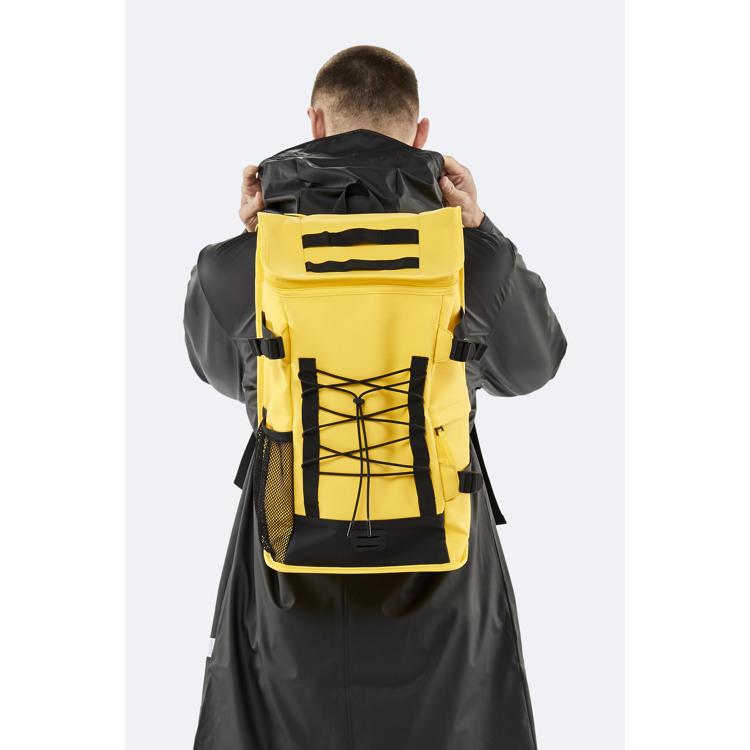 Rains Rygsæk Mountaineer Bag Gul 3
