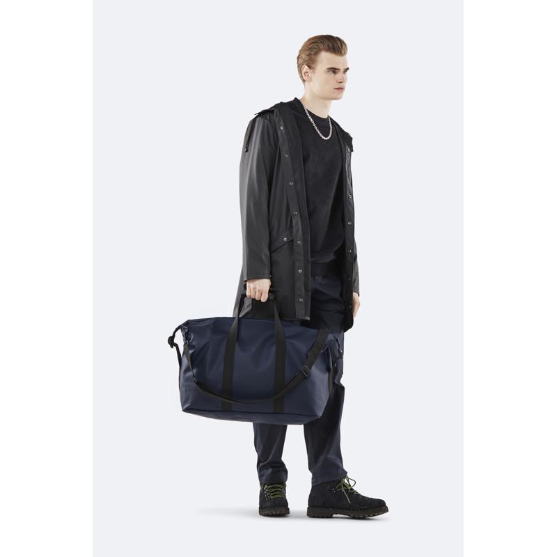 Rains Rejsetaske Weekend Bag Blå 4