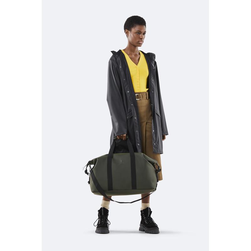 Rains Rejsetaske Weekend Bag Army Grøn 3