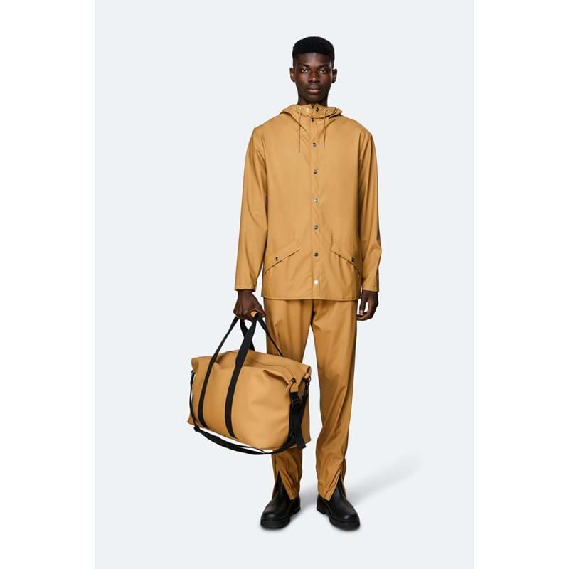 Rains Rejsetaske Weekend Bag Camel 4