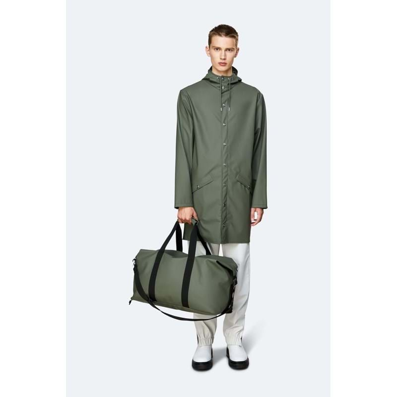 Rains Rejsetaske Weekend Bag Oliven Grøn 4