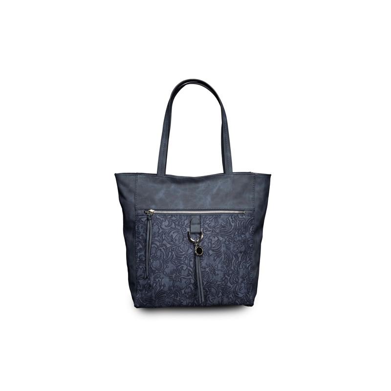 Ulrika Shopper Botanic  Blå 1