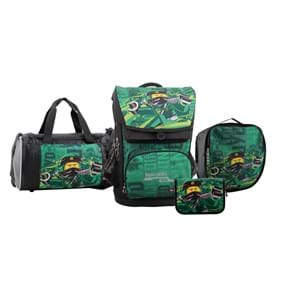 LEGO Skoletaske Maxi Ninjago Grøn