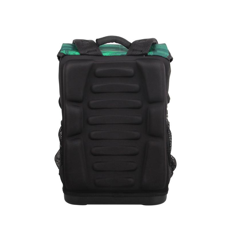 LEGO Skoletaske Maxi Ninjago Grøn mønster 4
