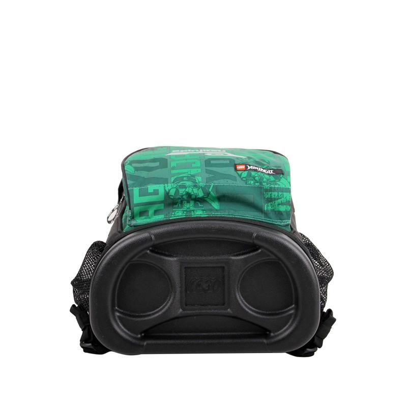 LEGO Skoletaske Maxi Ninjago Grøn mønster 7