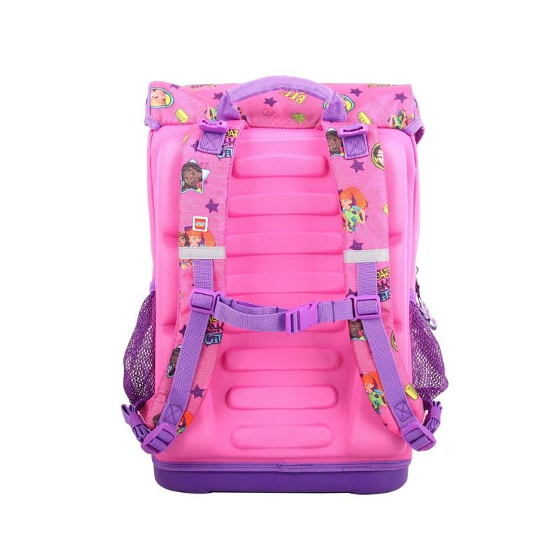 LEGO Skoletaske Maxi Friends Pink mønstret 2