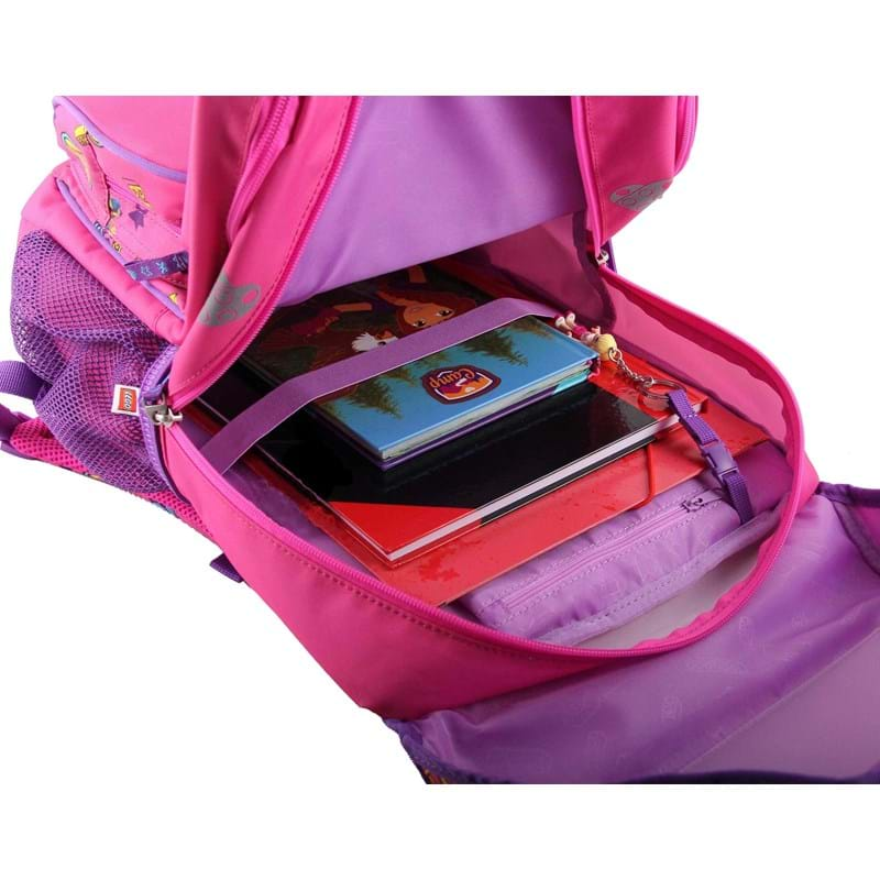 LEGO Skoletaske Maxi Friends Pink mønstret 4