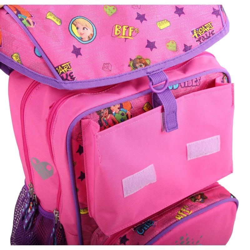 LEGO Skoletaske Maxi Friends Pink mønstret 5