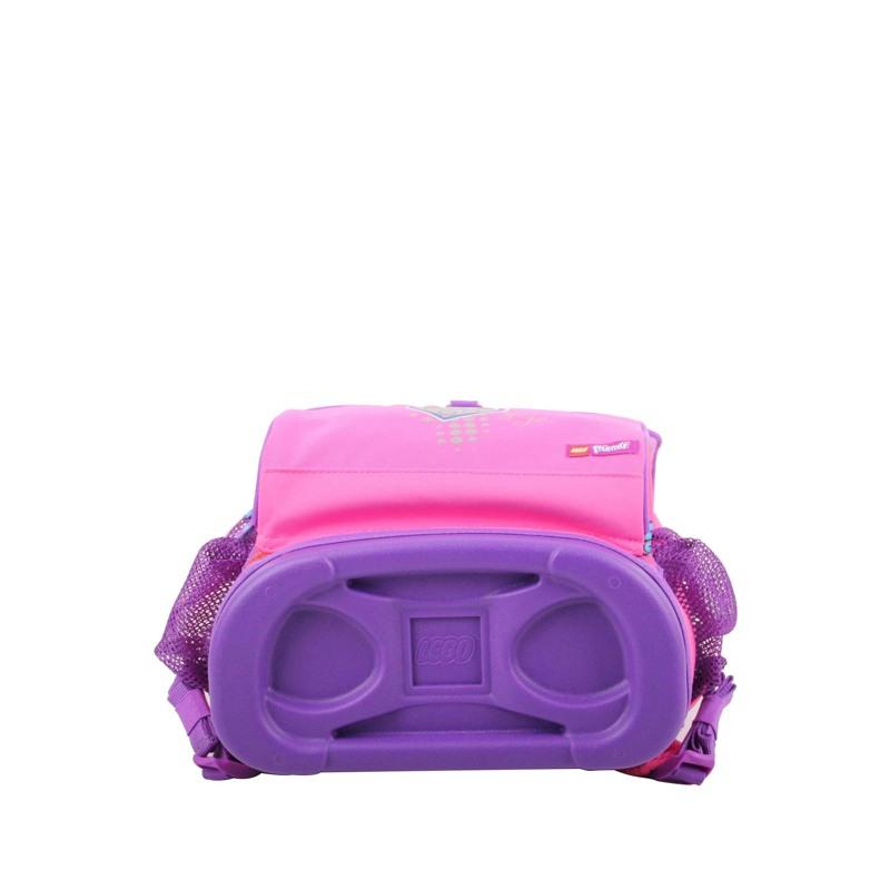 LEGO Skoletaske Optimo Friends  Pink mønstret 3