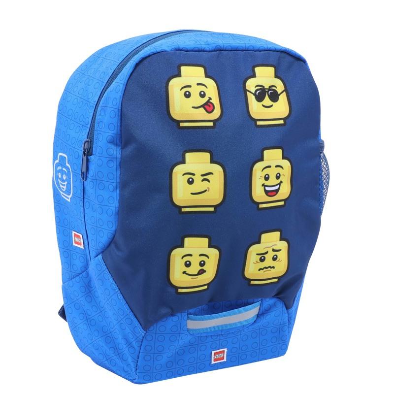 LEGO Børnehavetaske Faces Blå m/ gul 1