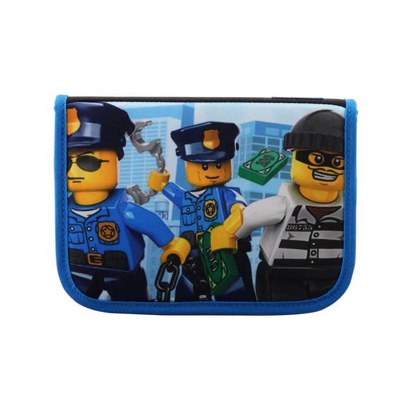 LEGO Penalhus City police Blå/mønster 1
