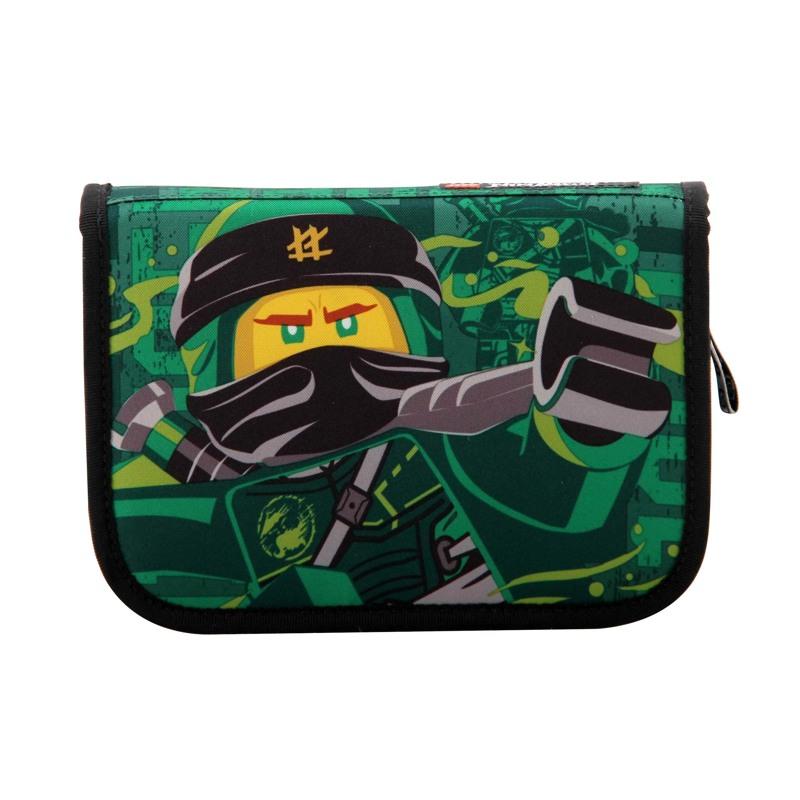 LEGO Penalhus Ninjago energy Grøn mønster 1