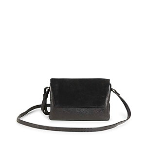 Markberg Crossbody Rayna Suede Mix Sort