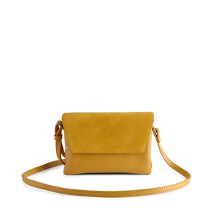 Markberg Crossbody Rayna Suede Mix Karry gul