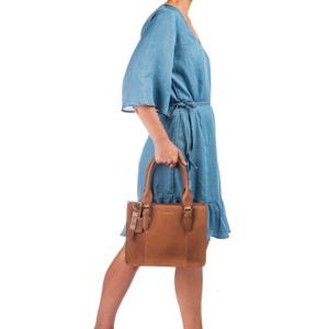 Burkely Håndtaske Desert Daisy Brun 5