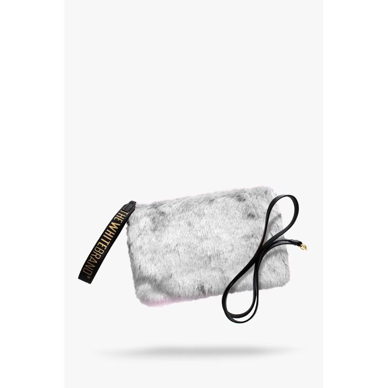 The White Brand Clutch Lulu Grå 1