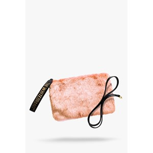 The White Brand Clutch Lulu Lyserød