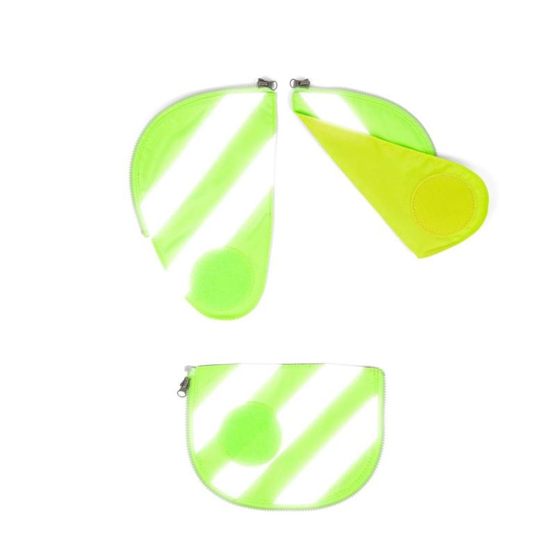Ergobag Sikkerhedsæt Pack m. refleks  Grøn 1