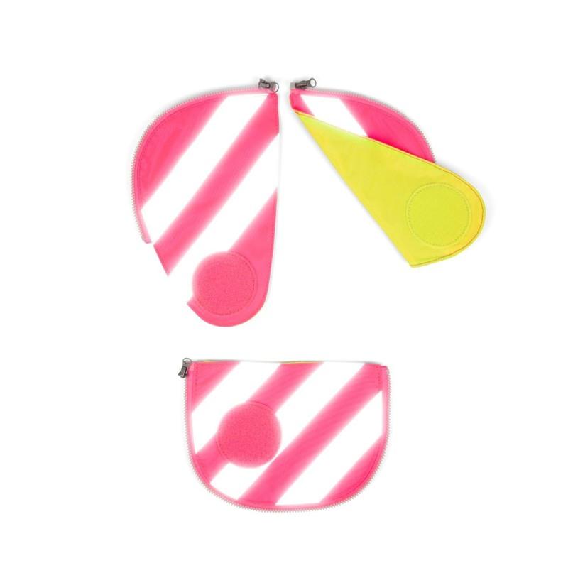 Ergobag Sikkerhedsæt Pack m. refleks Pink 1