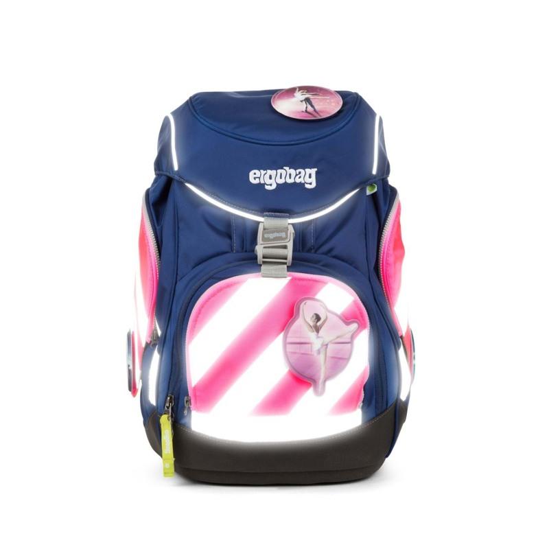 Ergobag Sikkerhedsæt Pack m. refleks Pink 2