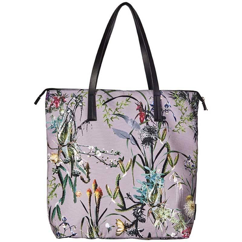 Bella Ballou Shopper Asian garden Grå/grøn 1