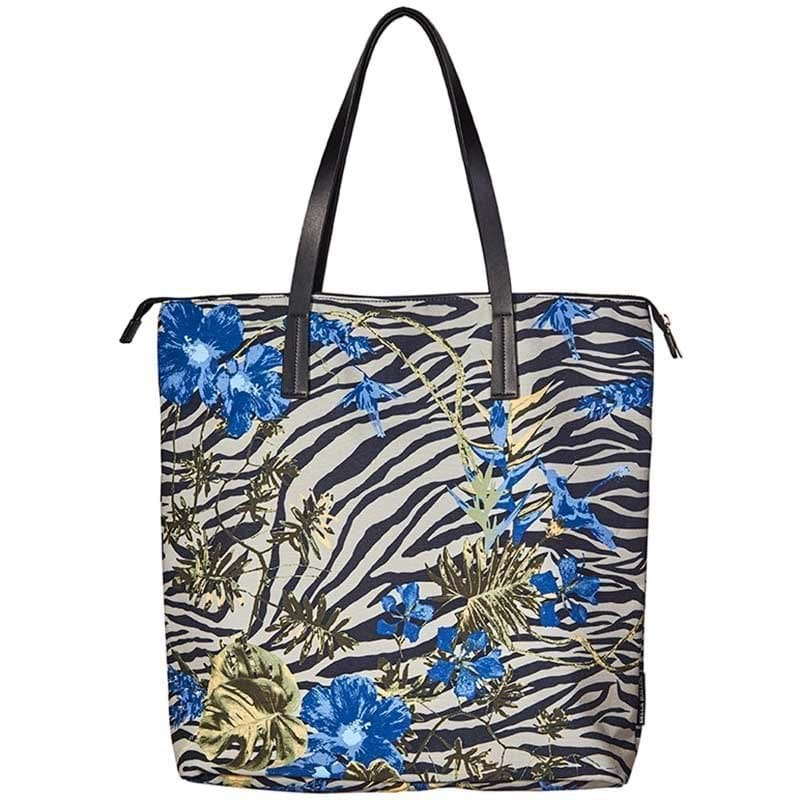 Bella Ballou Shopper Zebra Blå/mønster 1