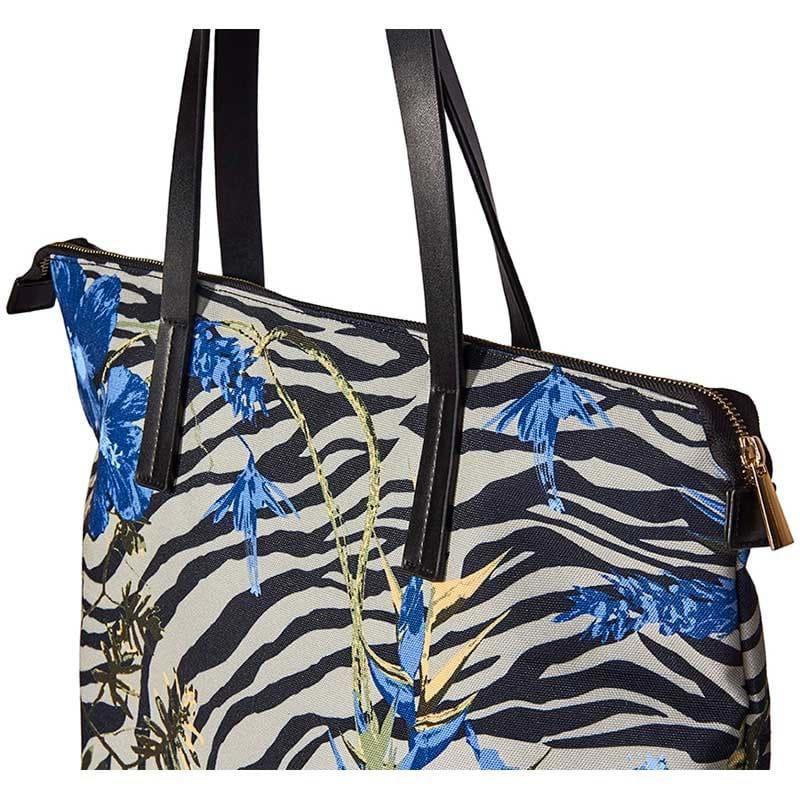 Bella Ballou Shopper Zebra Blå/mønster 2