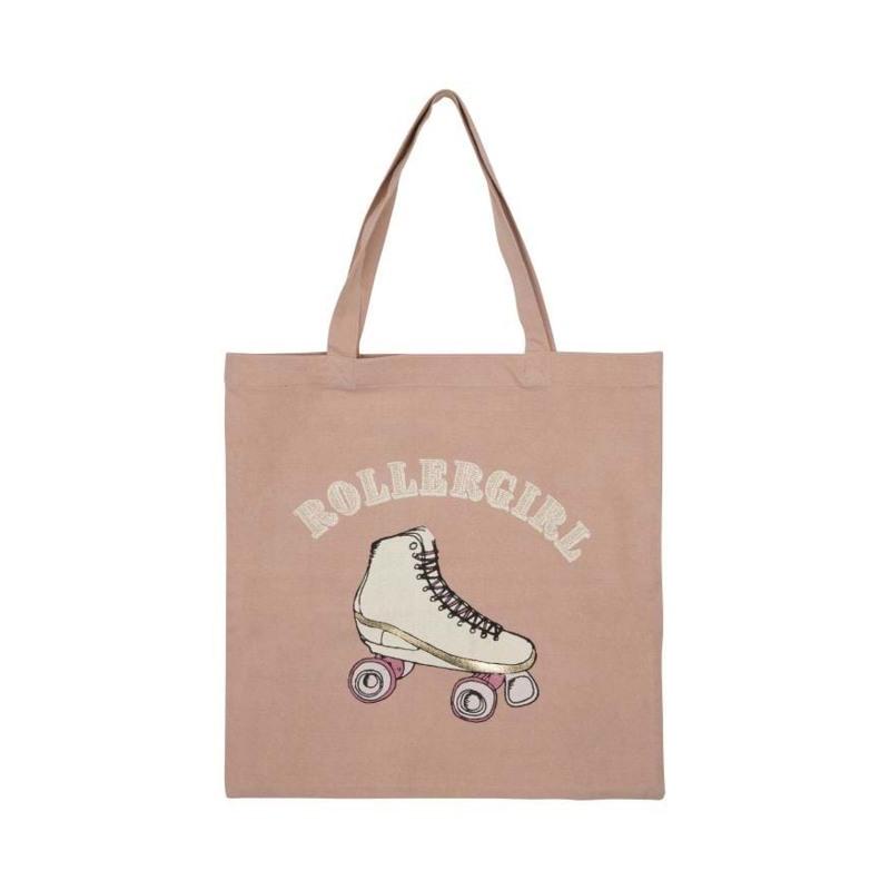 Sofie Schnoor Girls Shopper Filippa Rollergirl Lyserød 1