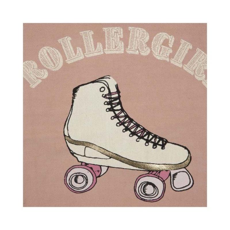 Sofie Schnoor Girls Shopper Filippa Rollergirl Lyserød 2