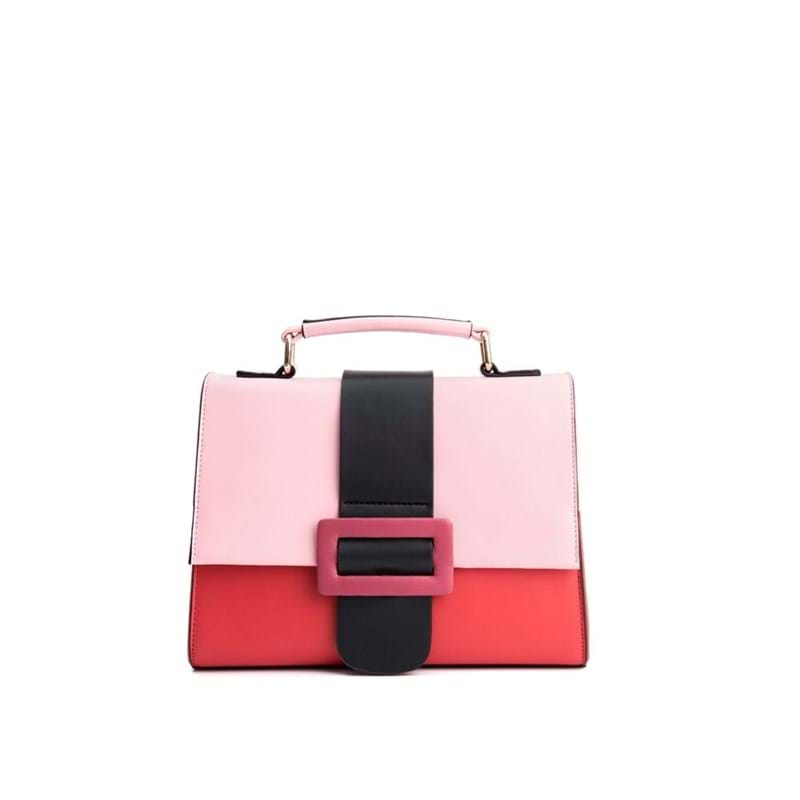 Håndtaske Rød/lyserød 1